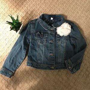 Girls jean jacket 5T